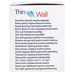 BD THIN Wall Pen-Nadeln 0,25 31 Gx8 mm 100 Stück - Rechte Seite