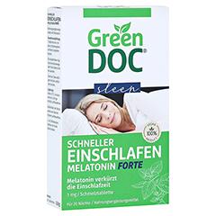 GREENDOC Schneller Einschlafen Melatonin Forte SMT 20 Stück