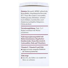 IMMUN POWER Dr.Koll Vitamin C+Vitamin D+Zink Kaps. 60 Stück - Rechte Seite