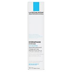 La Roche-Posay Hydraphase Intense UV Legere Leichte Feuchtigkeitspflege 50 Milliliter - Rückseite