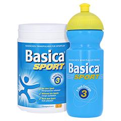 Basica Sport Mineralgetränk Pulver + gratis Basica Sport Trinkflasche 660 Gramm