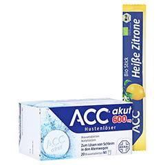 ACC akut 600mg Hustenlöser + gratis ACC heiße Bio-Zitrone 20 Stück N1