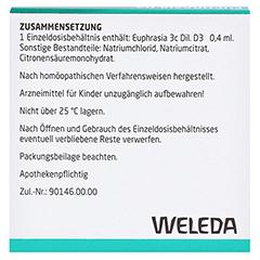 Euphrasia D3 Einzeldosis-Augentropfen 5x0.4 Milliliter N1 - Rückseite