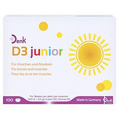D3 JUNIOR Denk Tabletten 1x100 Stück - Vorderseite