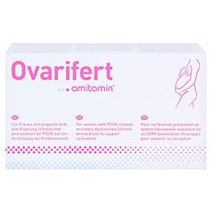 Amitamin Ovarifert PCOS Kapseln 120 Stück - Vorderseite