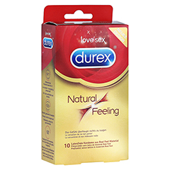 Durex Natural Feeling Kondome 10 Stück