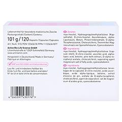 Amitamin Ovarifert PCOS Kapseln 120 Stück - Unterseite