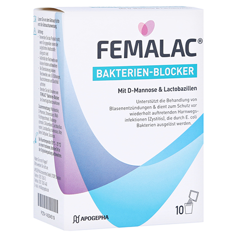 FEMALAC Bakterien-Blocker Pulver 10 Stück
