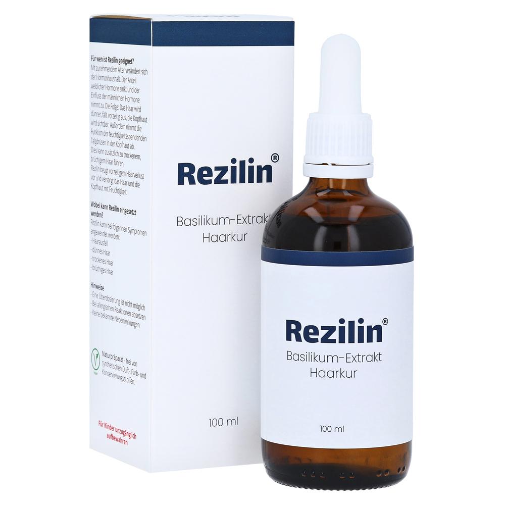 Erfahrungen Zu Rezilin Basilikum Extrakt Haarkur 100 Milliliter Medpex Versandapotheke