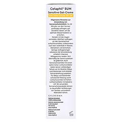 CETAPHIL Sun Daylong SPF 50+ sensitive Gel 100 Milliliter - Rechte Seite