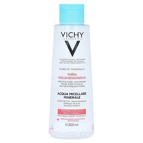 Vichy Purete Thermale Mineral Mizellen Reinigungsfluid für empfindliche Haut 200 Milliliter