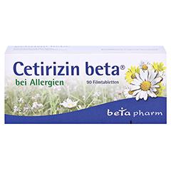 Cetirizin beta 90 Stück - Vorderseite