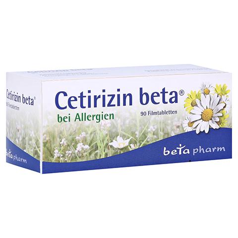 Cetirizin beta 90 Stück