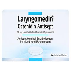 Laryngomedin Octenidin Antisept 2,6mg 24 Stück N1 - Vorderseite