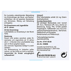 Laryngomedin Octenidin Antisept 2,6mg 24 Stück N1 - Rückseite