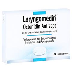 Laryngomedin Octenidin Antisept 2,6mg 24 Stück N1