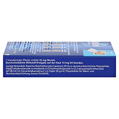 Nicotinell 14mg/24Stunden 14 Stück - Linke Seite