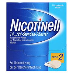 Nicotinell 14mg/24Stunden 14 Stück - Vorderseite
