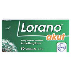 Lorano akut 50 Stück N2 - Vorderseite