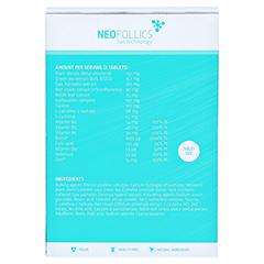 Neofollics Tabletten 100 Stück - Rückseite