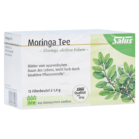 MORINGA TEE Bio Moringa oleifera folium Salus Fbtl 15 Stück