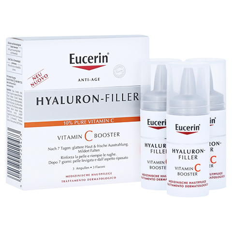 EUCERIN Anti-Age HYALURON-FILLER Vitamin C Booster 3x8 Milliliter