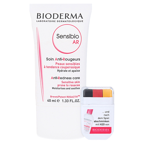 BIODERMA Sensibio AR Creme + gratis Bioderma WM Fan Stick 40 Milliliter