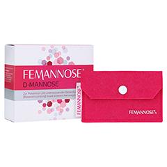 FEMANNOSE N Granulat + gratis Femannose Filzetui 14 Stück