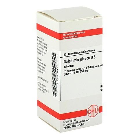 GALPHIMIA GLAUCA D 6 Tabletten 80 St�ck N1