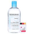 BIODERMA Hydrabio H2O 4in1 Mizellen-Reinigungslös. + gratis Bioderma WM Fan Stick 500 Milliliter