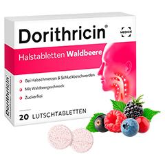 Dorithricin Halstabletten Waldbeere 0,5mg/1,0mg/1,5mg 20 Stück N1