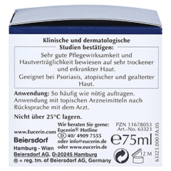 Eucerin UreaRepair Original Creme 5% 75 Milliliter - Linke Seite
