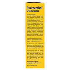 Pinimenthol Erkältungsbad ab 12 Jahre 125 Milliliter - Linke Seite