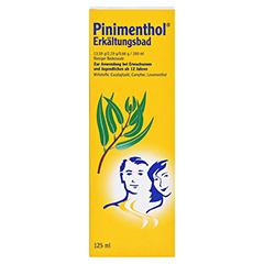 Pinimenthol Erkältungsbad ab 12 Jahre 125 Milliliter - Vorderseite