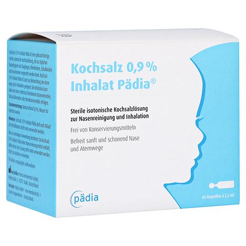 KOCHSALZ 0,9% Inhalat Pädia Ampullen 60x2.5 Milliliter