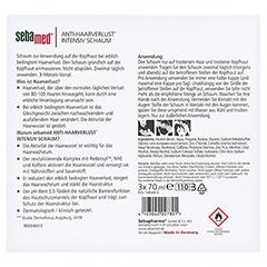 SEBAMED Anti-Haarverlust Intensiv Schaum 3x70 Milliliter - Rückseite