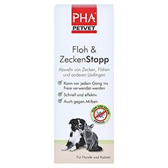 PHA Floh & ZeckenStopp Pumpspray f.Hunde/Katzen 100 Milliliter - Vorderseite