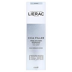 LIERAC CICA-FILLER reparierende Anti-Falten Creme 40 Milliliter - Rückseite
