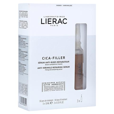 LIERAC CICA-FILLER reparierendes Anti-Falten Serum 3x10 Milliliter