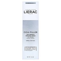 LIERAC CICA-FILLER reparierende Anti-Falten Creme 40 Milliliter - Vorderseite