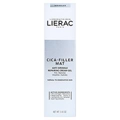 LIERAC CICA-FILLER reparier.Anti-Falten Gel-Creme 40 Milliliter - Vorderseite