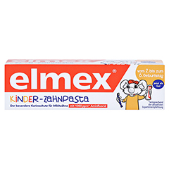Elmex Kinder-Zahnpasta 50 Milliliter - Vorderseite