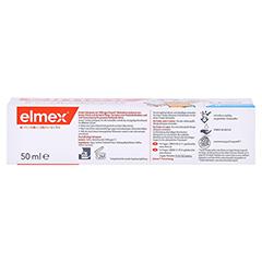 Elmex Kinder-Zahnpasta 50 Milliliter - Rückseite