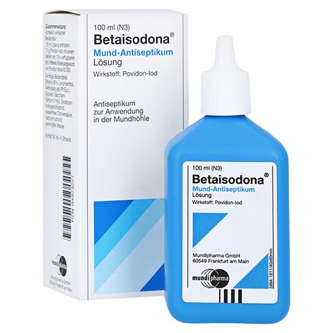 Betaisodona Mund-Antiseptikum 100 Milliliter N3