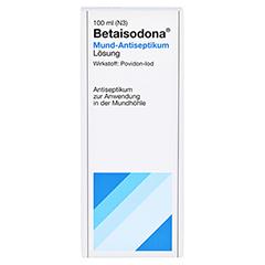 Betaisodona Mund-Antiseptikum 100 Milliliter N3 - Vorderseite