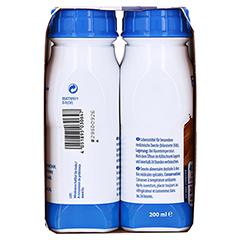 Fresubin 2 kcal Fibre DRINK Cappuccino Trinkflaschen 4x200 Milliliter - Linke Seite