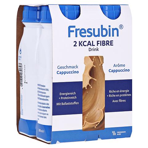 Fresubin 2 kcal Fibre DRINK Cappuccino Trinkflaschen 4x200 Milliliter
