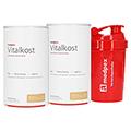 medpex Vitalkost Doppelpack + medpex Shaker 2x500 Gramm