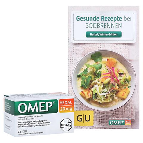 OMEP HEXAL 20mg + gratis Kochbuch Omep Hexal 14 Stück