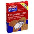 FINGERKUPPEN WUNDPFLASTER elastisch mit Fingerling 10 Stück